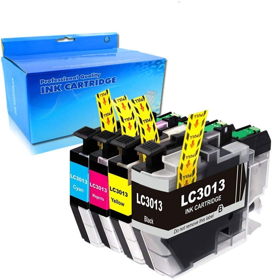 1Black,1Yellow,1Cyan,1Magenta OGOUGUAN Compatible Ink Cartridges Replacement for Brother LC3013 LC-3013 for use with Brother MFC-J491DW MFC-J895DW MFC-J690DW MFC-J497DW Printer 4PK