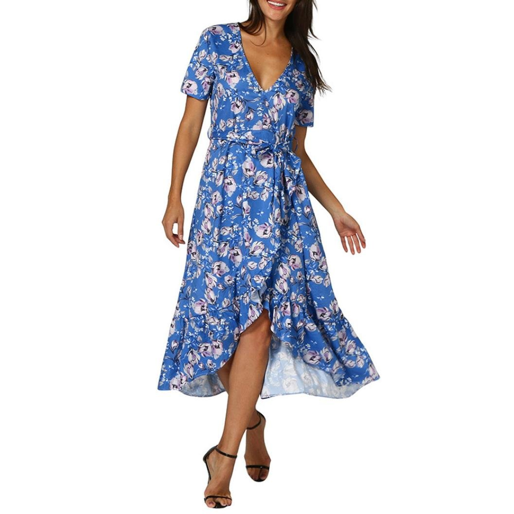 Women Summer Boho Dress 2019 New Summer Long Maxi Dress Evening Party Beach Holiday Off-shoulder Dresses Sexy Sundress Vestidos Meticulous Dyeing Processes Women's Clothing