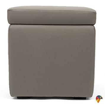 Pouf Contenitore Design.Arketicom Pandora Puff Contenitore Ecopelle Poggiapiedi Design Pouf Talpa 42x42