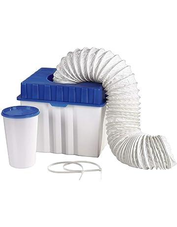 Xavax 111341 - Caja de condensados para secadora con salida de aire, color azul/