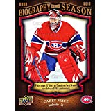 Carey Price Hockey Card 2009-10 Upper Deck Biography of a Season #15 Carey Price
