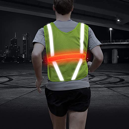Reflector Reflective Vest Safety Vest Accident Vest Motorcycle Sport Dark Neon
