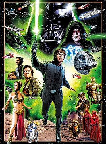 Star Wars - I Am A Jedi, Like My Father Before Me - 1000 Piece Jigsaw Puzzle