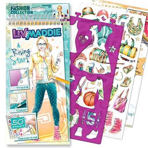 Style Me Up Liv Maddie A Rising Star Sketchbook Buy Online In
