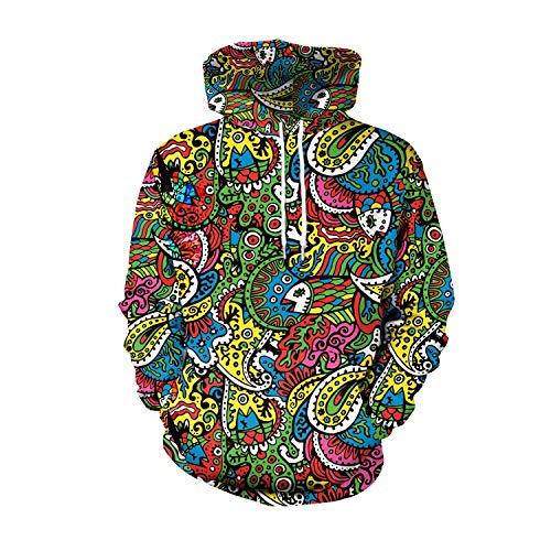 U LOOK UGLY TODAY Unisex Sweatshirt Large, Abstract ()