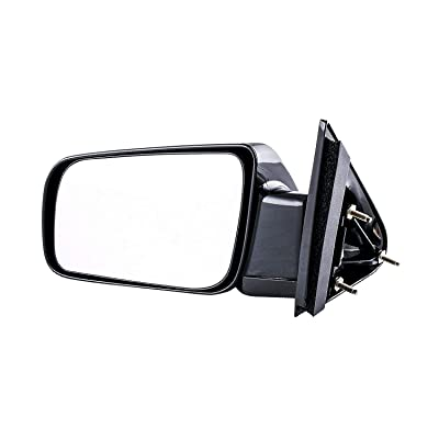 Dependable Direct Left Driver Side Folding Manual Operated Mirror for 88-99 Chevy/GMC C/K 1500 2500 - Parts Link #: GM1320123: Automotive