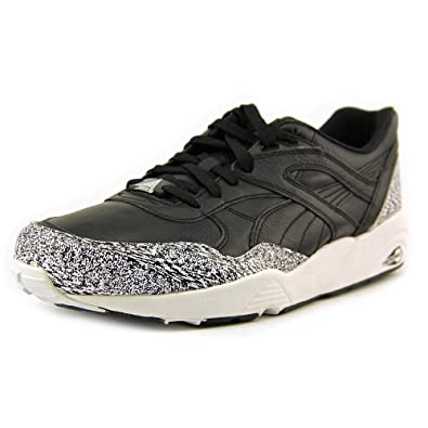 more photos 77897 2def8 Amazon.com  Puma Trinomic R698 (Snow Splatter) - Black   White, 7 D US   Shoes