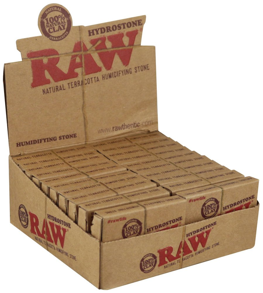RAW Hydrostone Natural Terracotta Humidifying Stone - 20 Per Box by Raw