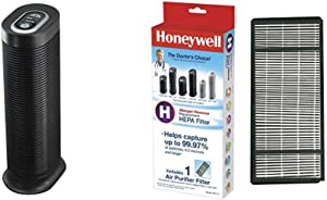 HONEYWELL HPA160 HEPA Tower Allergen Remover, 170 Sq Ft True HEPA Air Purifier Replacement Filter, HRF-H1/Filter (H)