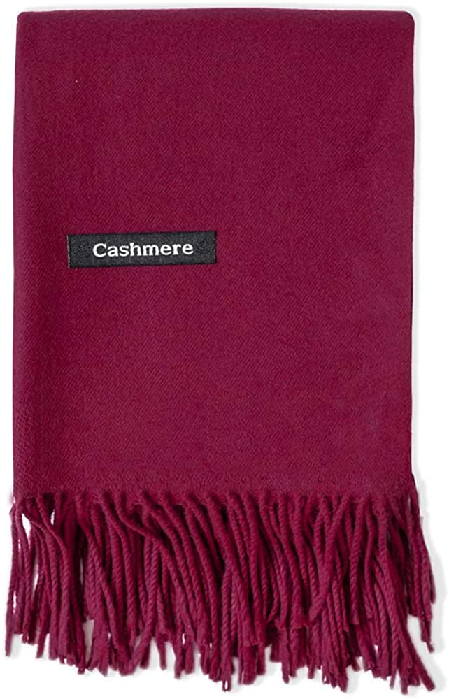 WY Thick Cashmere Scarf...