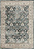 1830 Dark Blue Traditional 5 x 7 Area Rug Carpet Large New Review