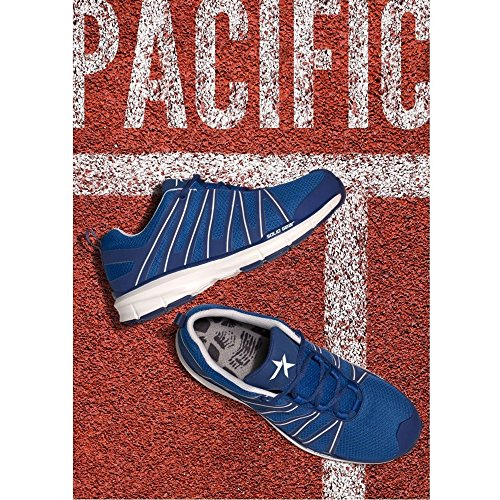 S1p 47 Shoe nbsp;pacific Solid Safety Sg8011447 white Gear Blue Size BwXXxqaTnv