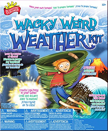 Scientific Explorer Wacky Weird Weather Kit