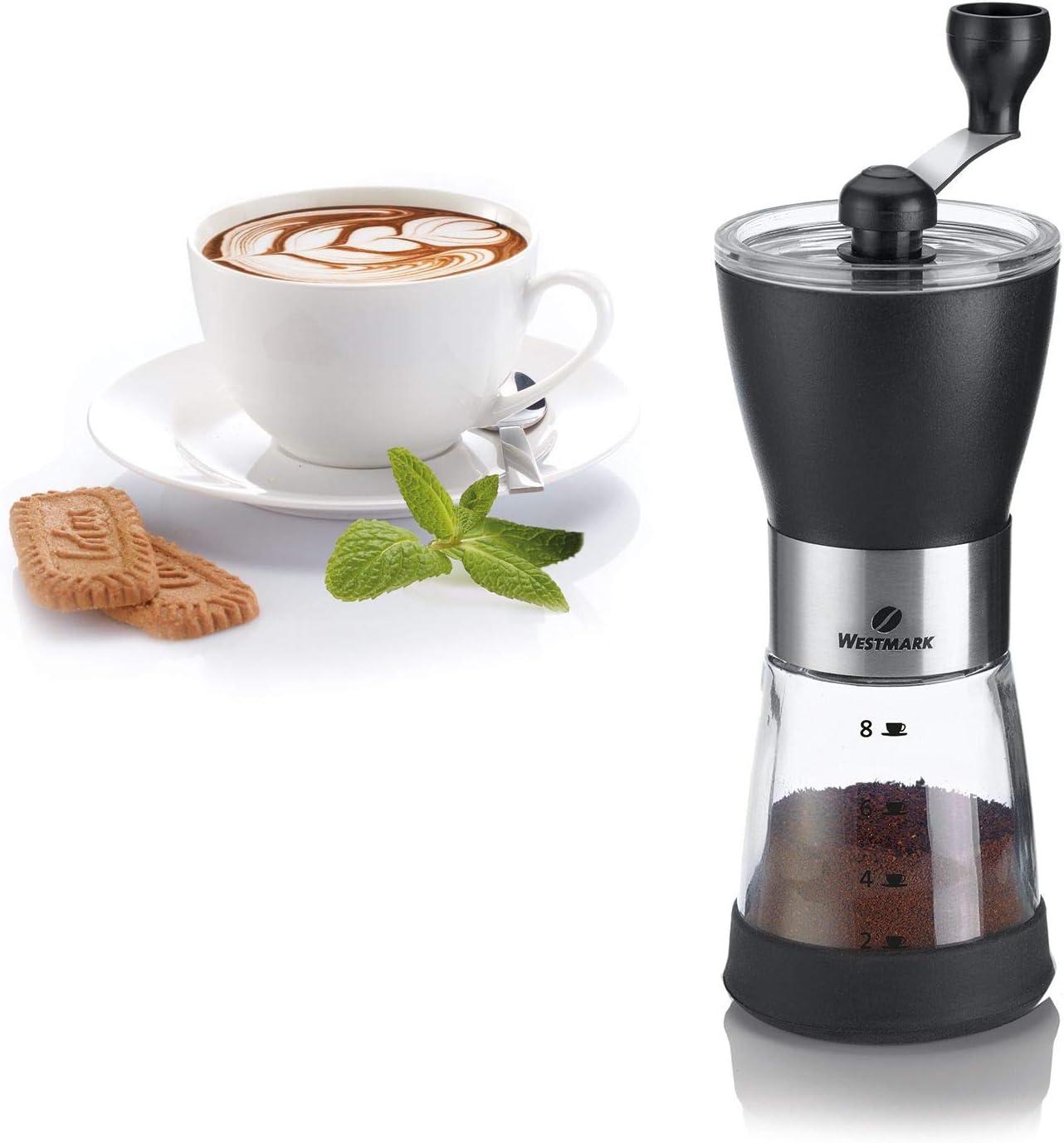 Westmark 24922260 Brasilia Negro - Molinillo de café (ABS ...