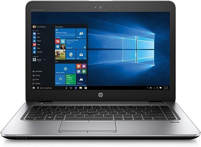 HP EliteBook 840 G3 Thin and Light 14-Inch Full HD LED Intel Core i5-6300U 8GB RAM 512GB SSD Windows 10 Pro Laptop (Renewed)