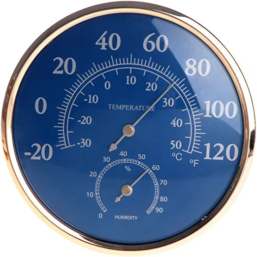 Wall-mounted Household Analog Thermometer Hygrometer Humidity Monitor Meter MA