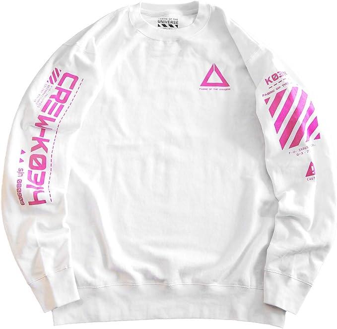 Futuristic Industrial Graphic Sweatshirt