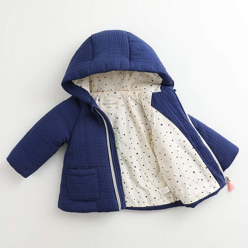 marc janie Baby Girls Winter Fashion Hooded Corduroy Jacket French Series