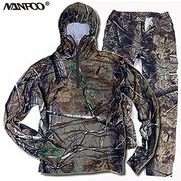 Amazon.com: Nuevo verano Otoño caza pesca camuflaje trajes ...