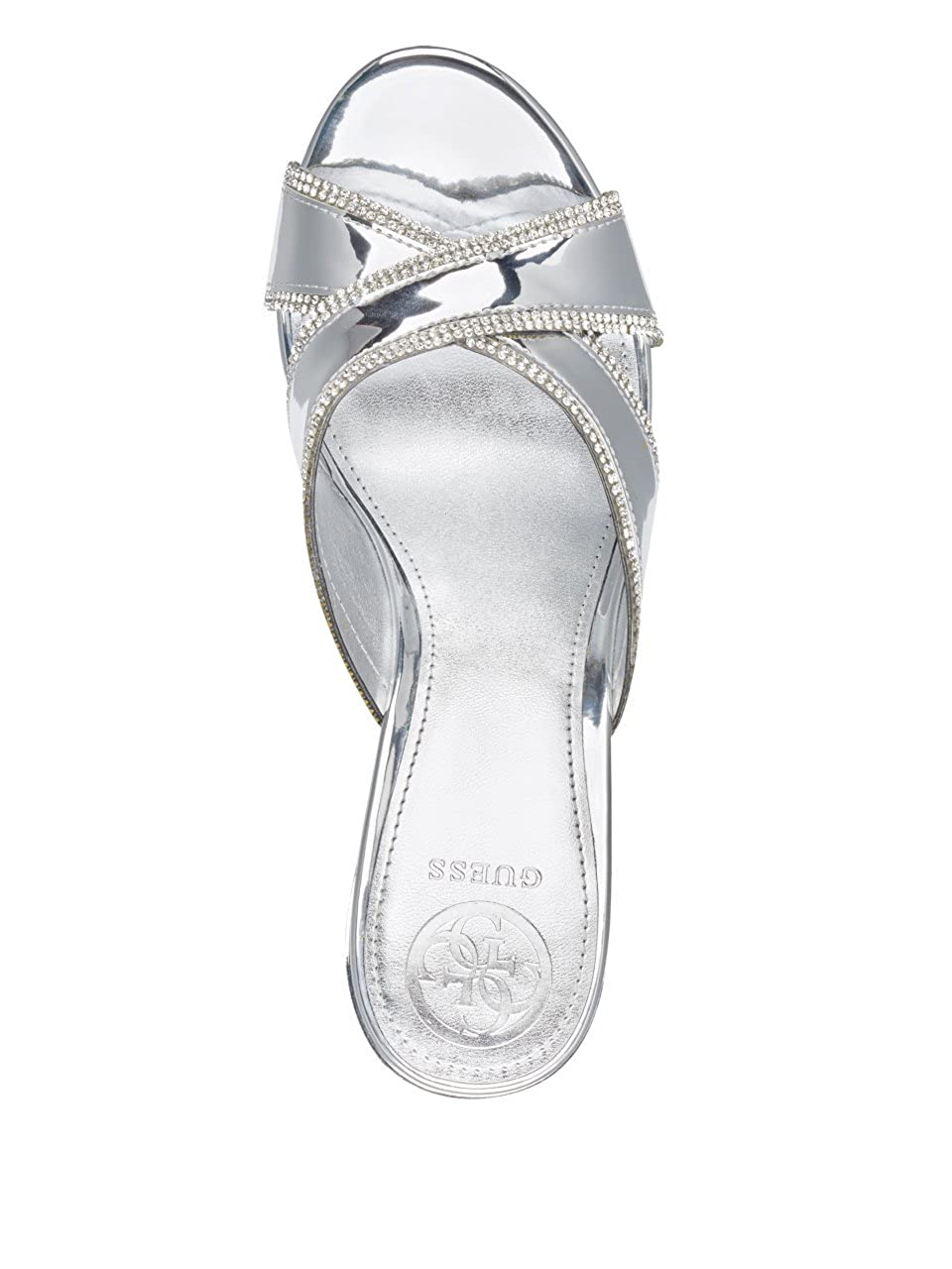 GUESS Womens ELEONORA4 Wedge Sandal