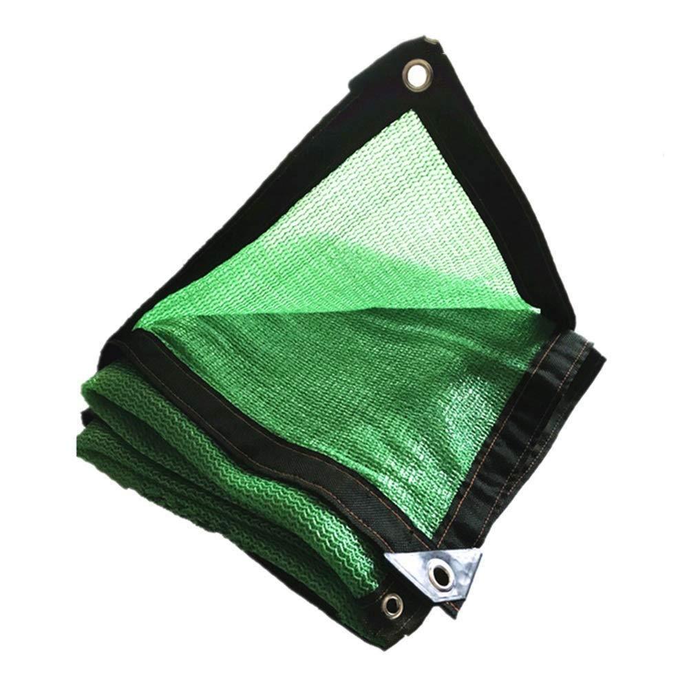 Rojo de protección, toldos, protección Solar, Malla Protectora Solar, toldos, toldos, Solar, toldos de Tela de Lona, adecuados para privacidad Resistente a los Rayos UV, múltiples tamaños, Verde (Tamaño   2  7M) 59c03c