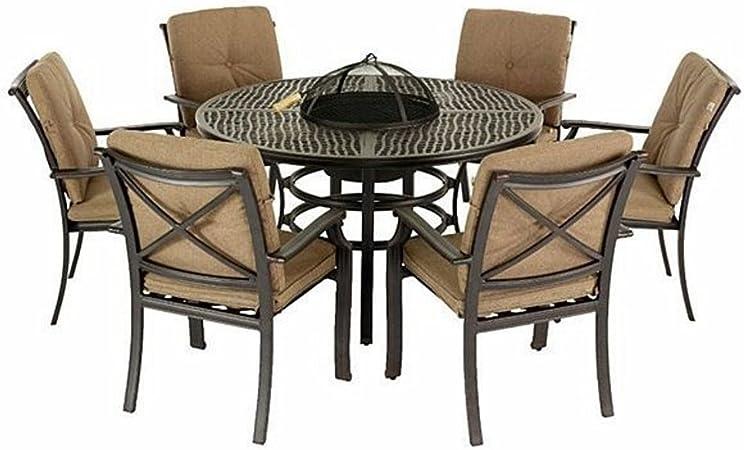 Jamie Oliver Hartman - Juego de mesa y 6 sillas para jardín ...