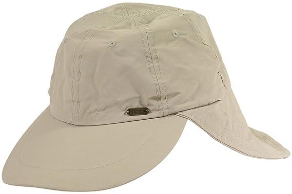 09948ee89eea0 Amazon.com  Stetson Men s No Fly Zone Nylon Cap with Sun Shield ...