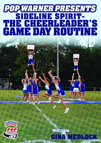 Championship Productions Pop Warner Presents Sideline Spirit - The Cheerleader's Game Day Routine DVD ()