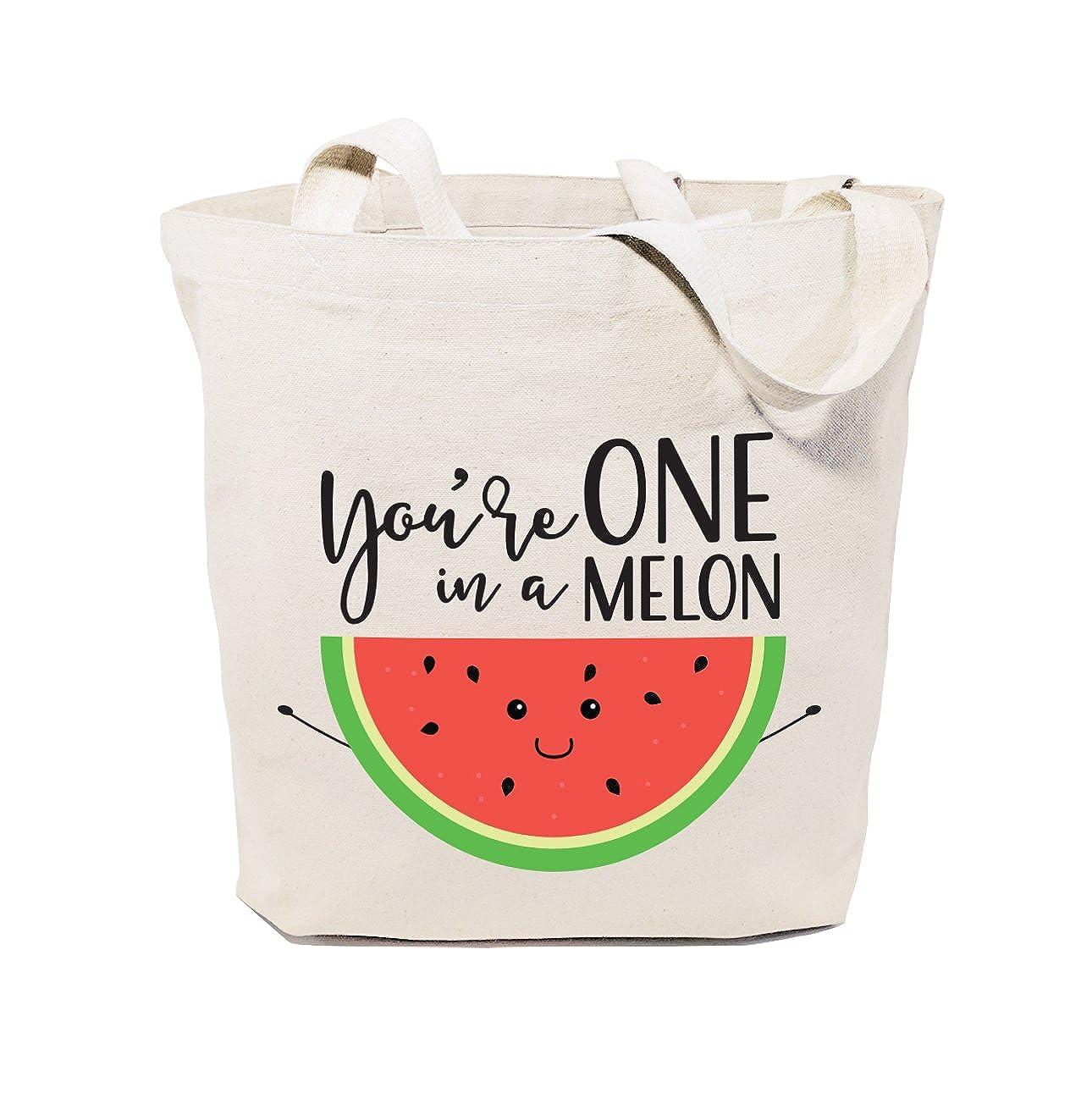 玄関先迄納品 The Cotton You're & Canvas Co. a レディース B071YP5S3T You're One Melon in a Melon You're One in a Melon, 発明屋:10553c7c --- 4x4.lt