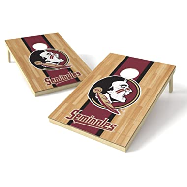 Wild Sports NCAA 2' x 3' Hardwood Cornhole Game Set