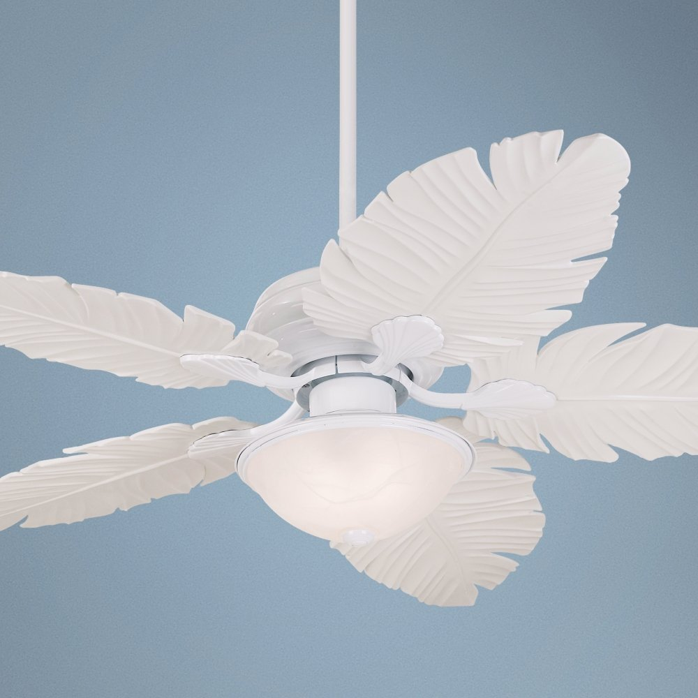 52 casa vieja outdoor palm leaf ceiling fan amazon aloadofball Image collections