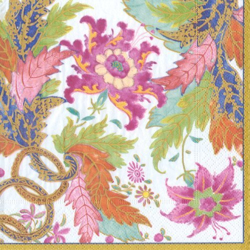 Lunch or Luncheon Paper Napkins Baby Shower Bridal Shower Wedding Birthday Party Tobacco Leaf Pk 40 -