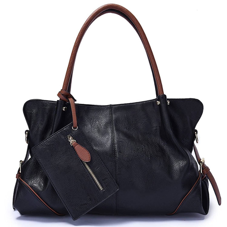 b1bea4d04ca7 FiveloveTwo Womens 3Pieces Handbag Set Hobo Clutch Top Handle Tote ...