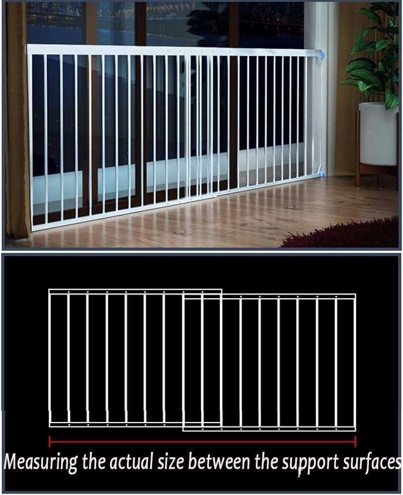 Color : Brown, Size : W 28cm High 83-102cm Mehr Gr/ö/ßen QIANDA Fenster Schutzgitter Metallstangen Baby Sicherheit Ohne Zu Bohren Verstellbare H/öhe