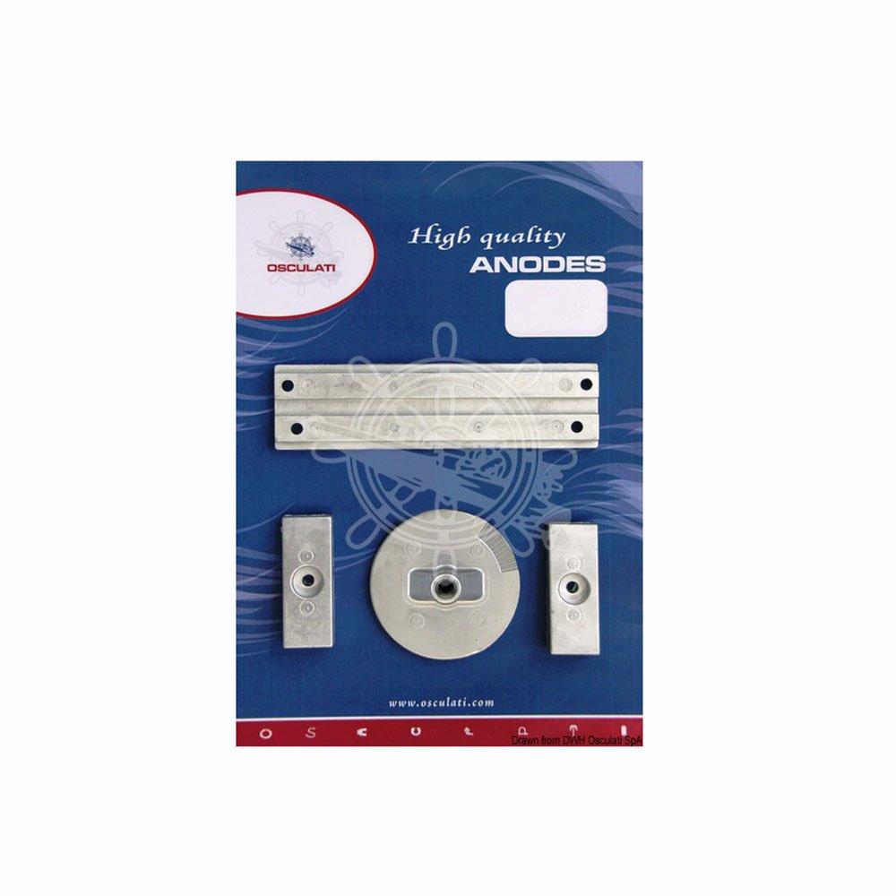 OSCULATI Kit Anode pour Mercury 75 115 EFI magnésium
