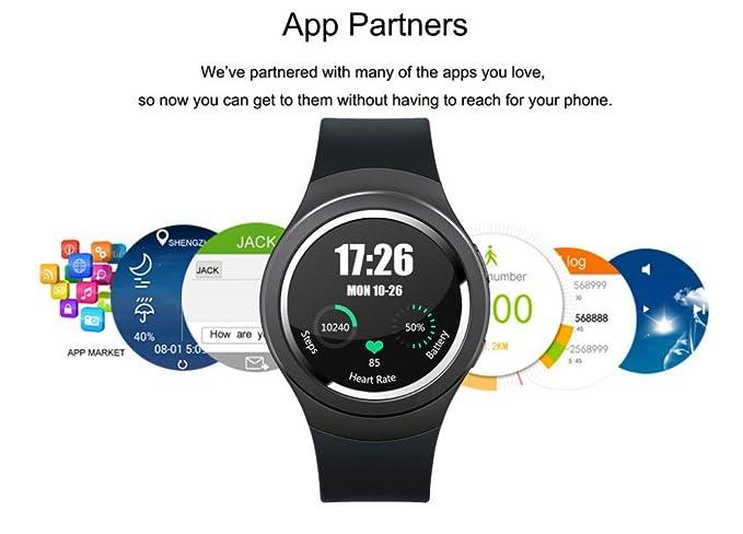 Amazon.com: Xiaoouwatch Smart Watch 3G X3 D8 gt88 gt08 with ...