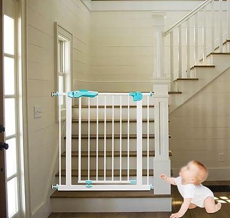 YHDD Puerta de Seguridad para bebés Puerta de Aislamiento niños balcón Puerta Protectora para Perros escaleras protección protección Puerta Fija (Tamaño : 145-155cm): Amazon.es: Hogar