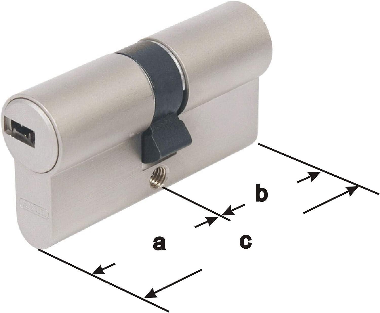 mit 3 Schl/üssel 30//80mm ABUS EC660 Profil-Doppelzylinder L/änge a//b c=110mm mit Sicherungskarte