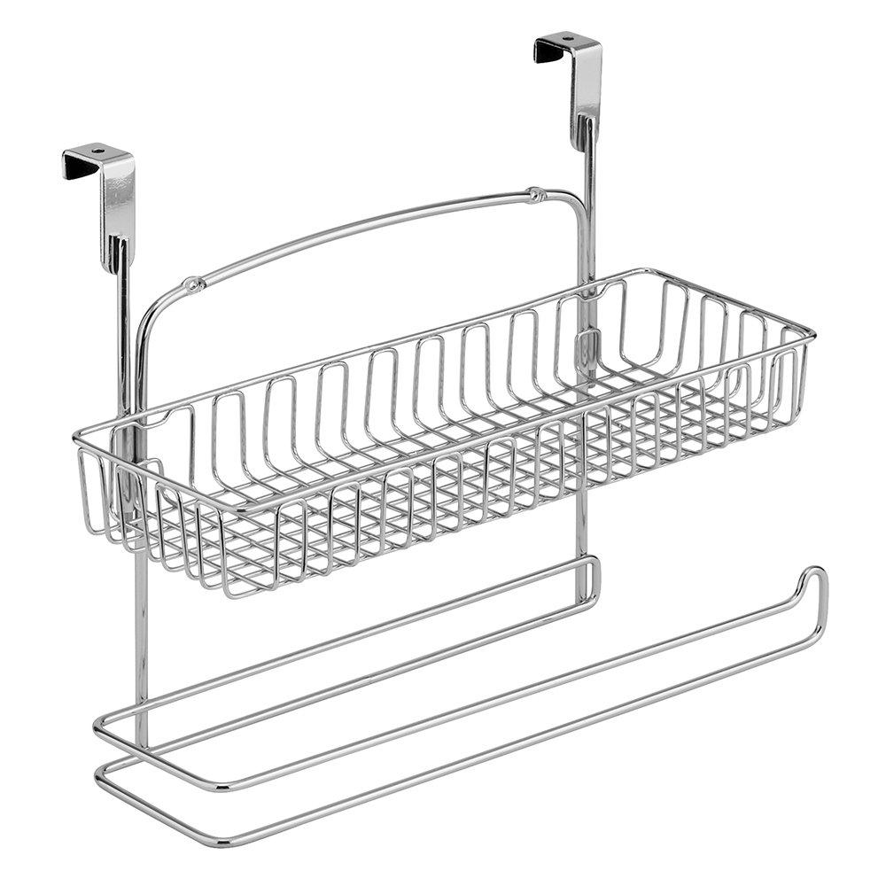 InterDesign 50110 Classico Over Cabinet Basket, Chrome