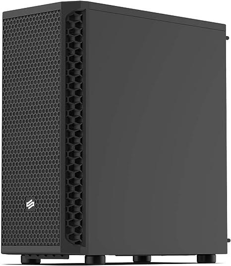 SilentiumPC Signum SG1 Escritorio Negro - Caja de Ordenador (Escritorio, PC, Negro, ATX,Micro ATX,Mini-ITX, 16,1 cm, 32,5 cm): Amazon.es: Informática