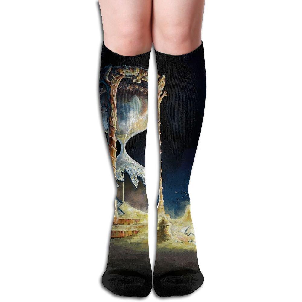 Tube High Keen Sock Boots Crew Hourglass Socks Compression Long Sport Stockings For Men Women