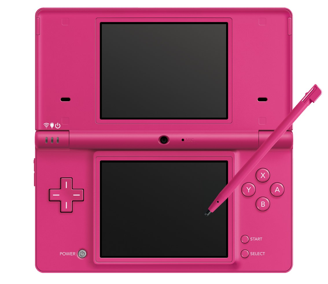 Nintendo DSi Pink Japanese Ver. (Works only Japan version DS/DSi software) [Japan Imported] by Nintendo