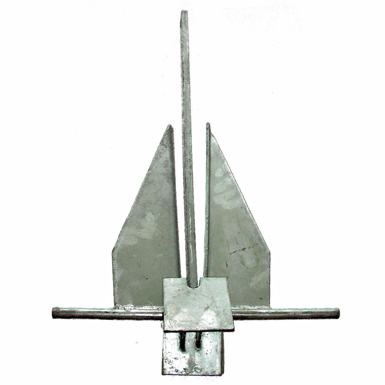 Osculati S.p.A. Danforth Anker verzinkter Stahl 6, 0 kg