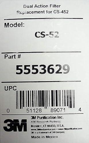 3M CS-52 5553629 - Cartucho de filtro de agua para ...