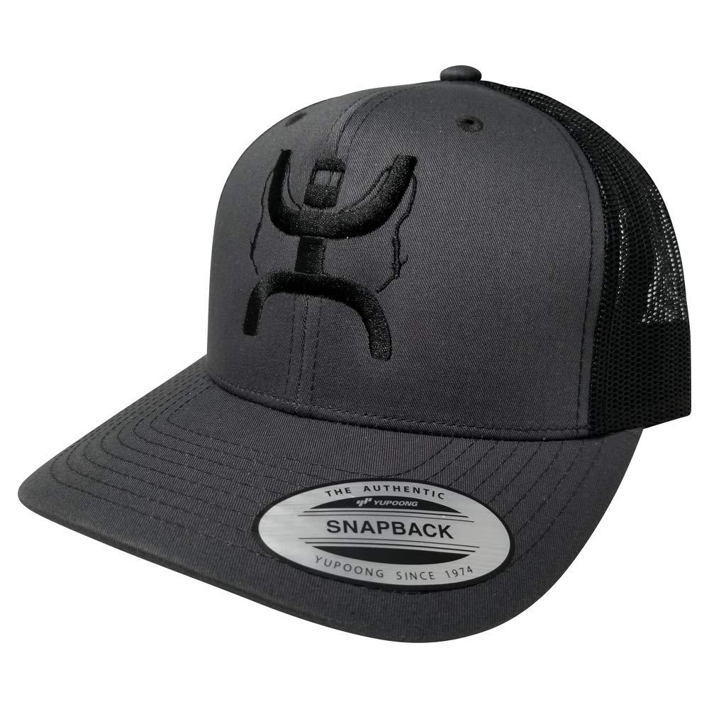 Yupoong Hooey Oil Field Life Snapback Cap, Custom Trucker Hat for Men and Women