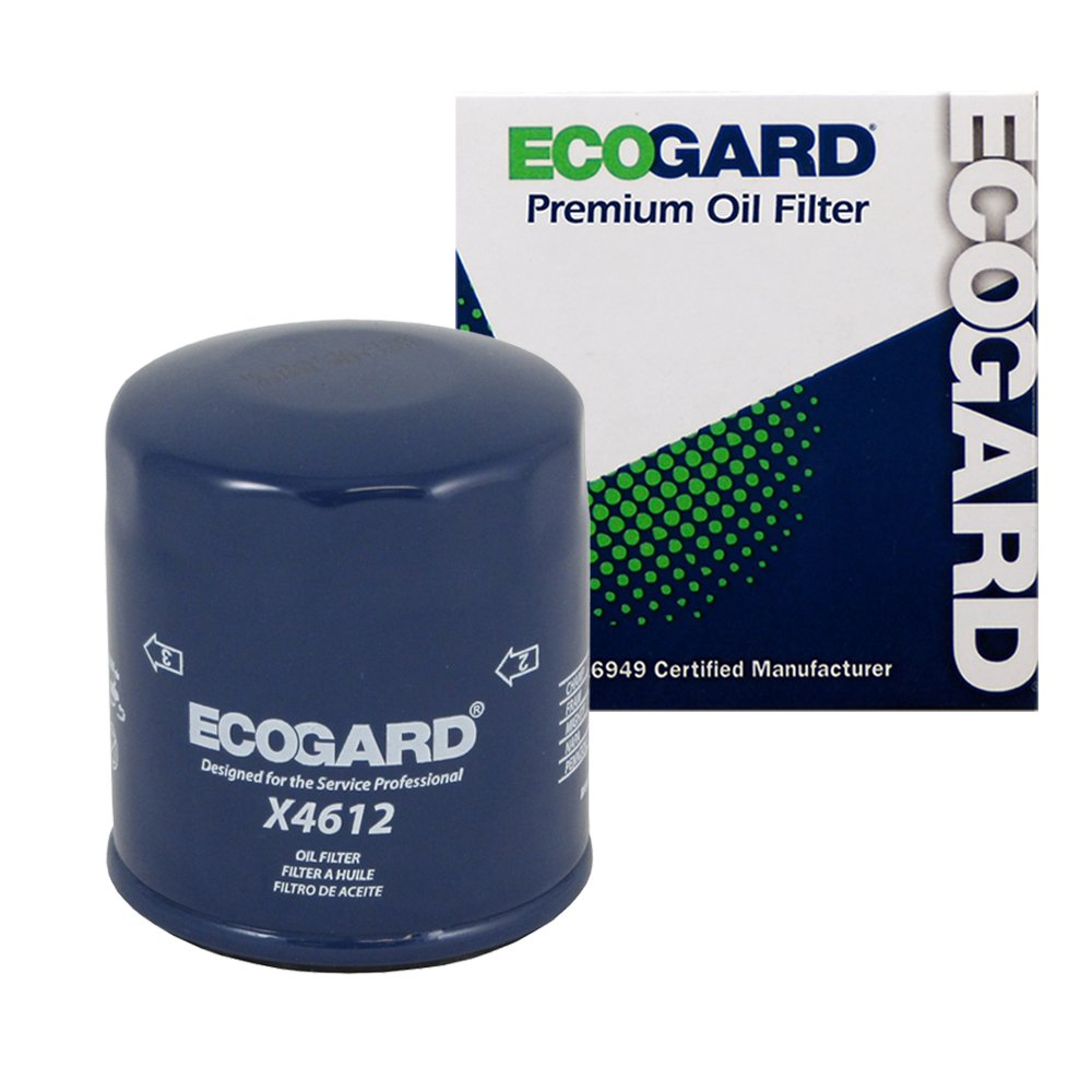 ECOGARD X4612 Spin-On Engine Oil Filter for Conventional Oil - Premium Replacement Fits Nissan Altima, Sentra, Rogue, Versa, Murano, Maxima, Pathfinder, Quest, Juke, Versa Note, 350Z, Rogue Select
