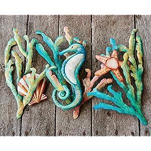 61iDH-cSeJL._SS300_ Seahorse Wall Art & Seahorse Wall Decor