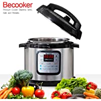 Becooker 5-in-1 multi Programmable Electric Pressure Cooker