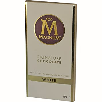 3034519c3 Image Unavailable. Image not available for. Color  Magnum Signature  Chocolate White Block ...