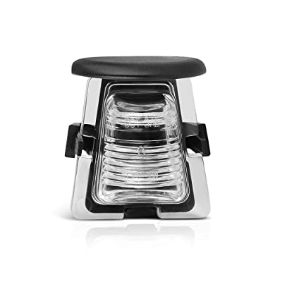 VIPMOTOZ OE-Style License Plate Light Tag Lamp Housing Assembly Replacement For 2007-2020 Jeep JK Wrangler: Automotive [5Bkhe1009547]